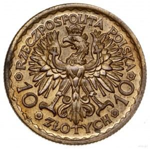 10 złotych, 1925, Warszawa; 900. rocznica koronacji Bol...