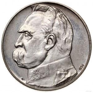 10 złotych, 1934, Warszawa; Józef Piłsudski z Orłem Str...
