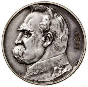 5 złotych, 1934, Warszawa; Józef Piłsudski - Orzeł Strz...