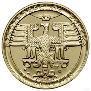 100, 50, 20 i 10 złotych, 1925, Mennica Warszawska; mon...