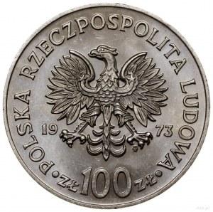 100 złotych, 1973, Warszawa; Mikołaj Kopernik /popiersi...