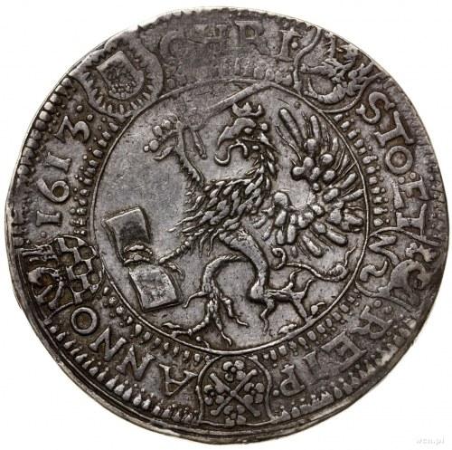 Talar, 1613, Szczecin; Aw: Popiersie księcia zwrócone w...