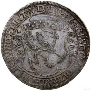 Talar, 1628, Szczecin; Aw: Popiersie księcia w prawo i ...