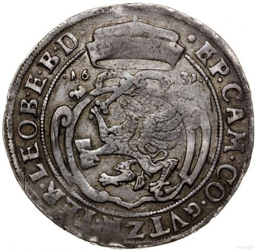 Talar, 1631, Szczecin; Aw: Popiersie księcia zwrócone w...