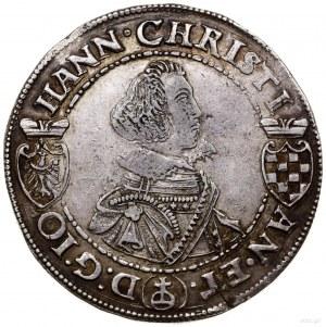 Talar, 1611, Złoty Stok; Aw: Popiersie Jana Krystiana B...