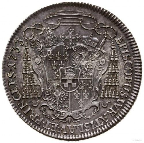Półtalar, 1753, Nysa; Aw: Popiersie zwrócone w prawo, n...