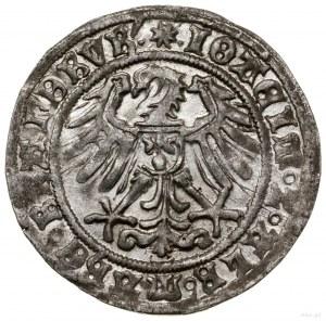 Grosz, 1512, Krosno Odrzańskie; odmiana z ośmioramienną...