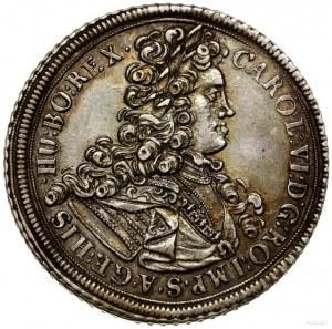 Talar, 1714, Wrocław; Aw: Popiersie władcy w prawo i na...