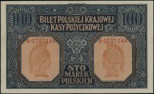"100 marek polskich, 9.12.1916; ""Generał"", seria A, nume..."