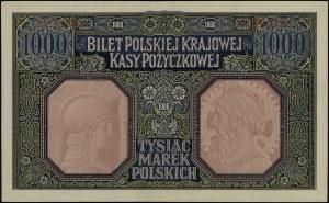"1.000 marek polskich, 9.12.1916; ""Generał"", seria A, nu..."
