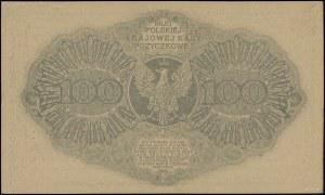 """100 marek polskich, 15.02.1919; znak wodny - """"plaster m..."""