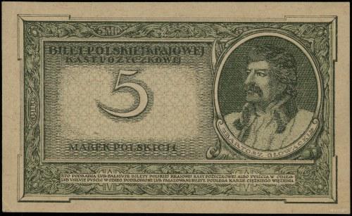5 marek polskich, 17.05.1919; seria S, numeracja 204775...