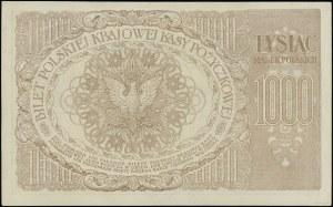 """1.000 marek polskich, 17.05.1919; znak wodny - """"Orły i ..."""
