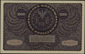 1.000 marek polskich, 23.08.1919; seria I-DP, numeracja...