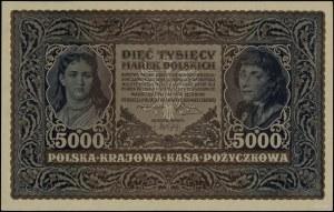 5.000 marek polskich, 7.02.1920; seria III-I, numeracja...