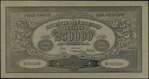 250.000 marek polskich, 25.04.1923; seria BG, numeracja...