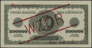 500.000 marek polskich, 30.08.1923; seria D, numeracja ...