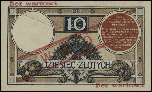10 złotych, 15.07.1924; II emisja, seria A, numeracja 5...