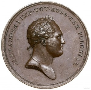Medal na pamiątkę utworzenia Królestwa Polskiego, 1815,...