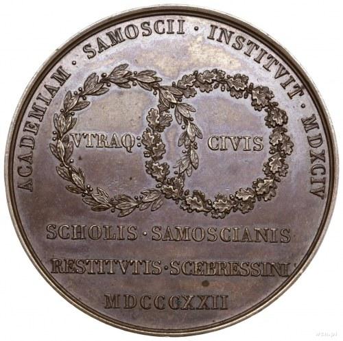 Medal na pamiątkę przeniesienia Akademii z Zamościa do ...