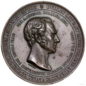 Medal upamiętniający sir Dudleya C. Stuarta, wiernego p...