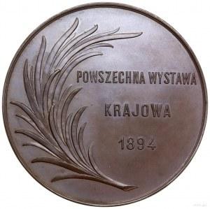 Medal nagrodowy Powszechnej Wystawy Krajowej we Lwowie,...