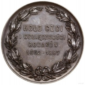 """Medal pamiątkowy dedykowany Jadwidze """"Deotymie"""" Łuszcze..."""