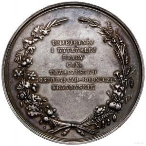 Medal pamiątkowy Towarzystwa Gospodarczo-Rolniczego w K...