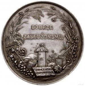 Medal nagrodowy Galicyjskiego Towarzystwa Gospodarczego...