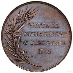 Medal nagrodowy Wystawy Przemysłowej w Pleszewie, 1912;...