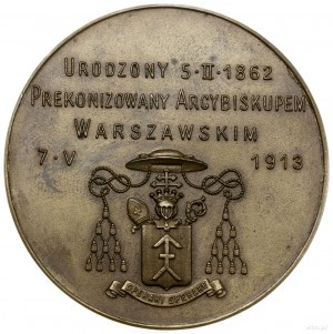 Medal na pamiątkę wyboru Aleksandra Kakowskiego arcybis...