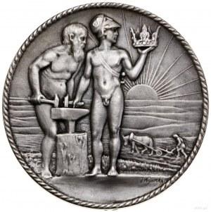Medal Legiony Polskie, 1916, medal projektu Jana Wysock...