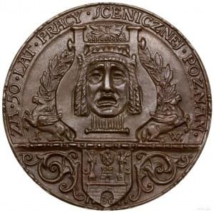 Medal na pamiątkę 50 lat pracy scenicznej Romana Żelazo...