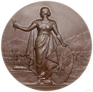 Medal na pamiątkę przyjęcia Polski do Rady Ligi Narodów...