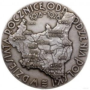Medal na pamiątkę Powszechnej Wystawy Krajowej w Poznan...