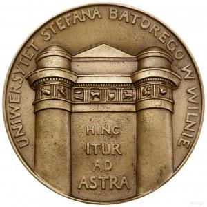 Medal na pamiątkę 350. rocznicy założenia Uniwersytetu ...