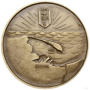 Medal na pamiątkę rozpoczęcia rejsów MS Batory, 1937, p...