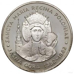 600 lat fundacji klasztoru na Jasnej Górze, 1982, proje...