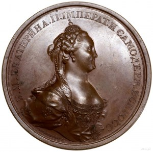 Medal koronacyjny, 1762, autorstwa Timofieja Iwanowa i ...