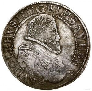 Talar, 1607, mennica Wiedeń; Aw: Popiersie władcy w pra...