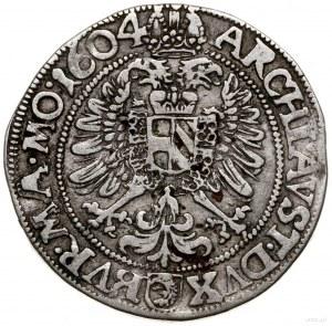 1/4 talara, 1604, mennica Kutná Hora; Halačka 375, Jano...