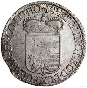 Patagon, 1698; Aw: Popiersie biskupa w prawo, IOSEPH CL...