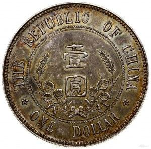 Chiny / China, 1 dolar, bez daty (1912)