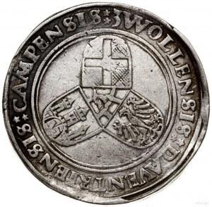 Écu, 1555, mennica Deventer; Aw: Półpostać Karola V w p...