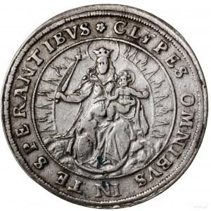 1/2 talara, 1622, mennica Monachium; Aw: Ukoronowana ta...