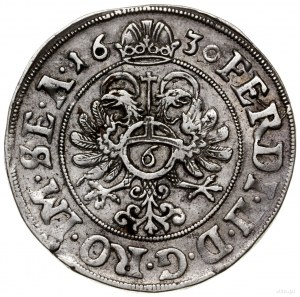1/4 talara (6 groszy), 1630; z tytulaturą Ferdynanda II...