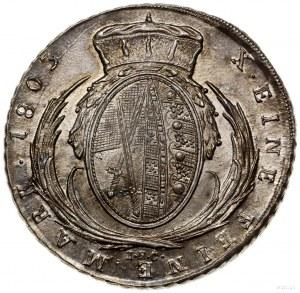 Talar, 1803 IEC, mennica Drezno; odmiana z literami IEC...