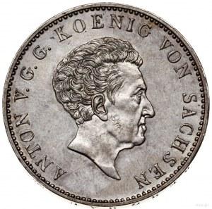 Talar, 1829, mennica Drezno; talar nagrodowy Akademii G...