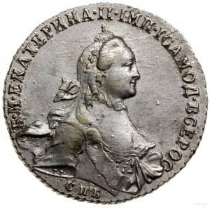 Rubel, 1764 СПБ ЯI, mennica Petersburg; Bitkin 185, Dia...