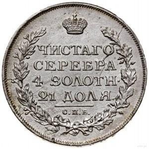 Rubel, 1814 СПБ МФ, mennica Petersburg; Adrianov 1814б,...